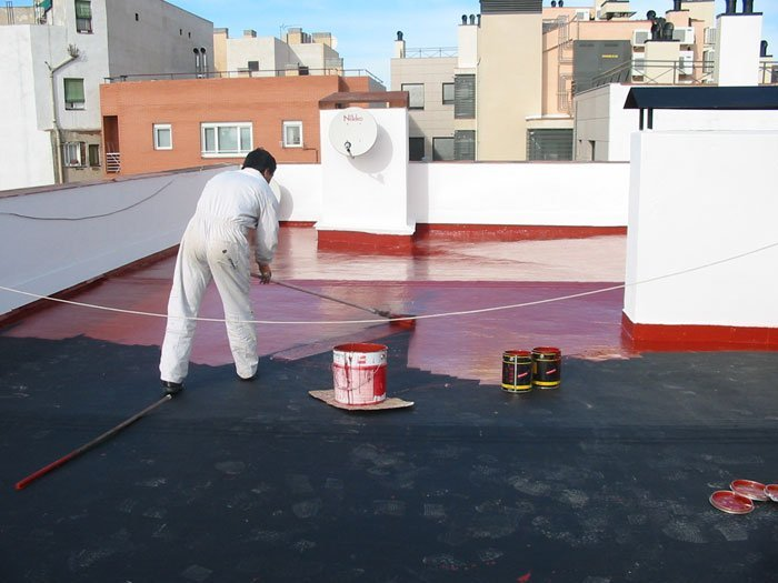 Impermeabilizaciones de cubiertas y terrazas en madrid - Tipos de impermeabilizacion ...