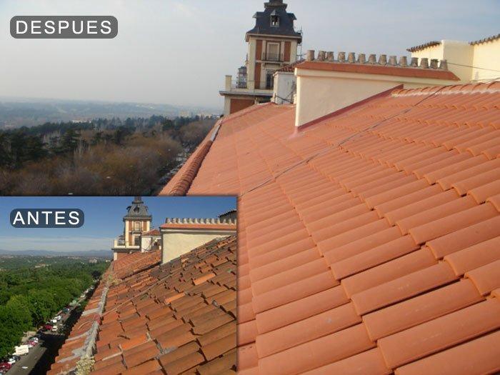 Reparaci n de tejados goteras y cubiertas en madrid - Cubiertas de tejados ...