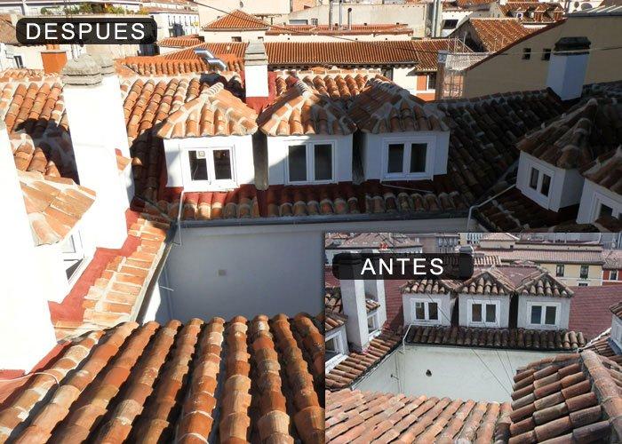 Reparaci n de tejados goteras y cubiertas en madrid - Cubiertas y tejados ...
