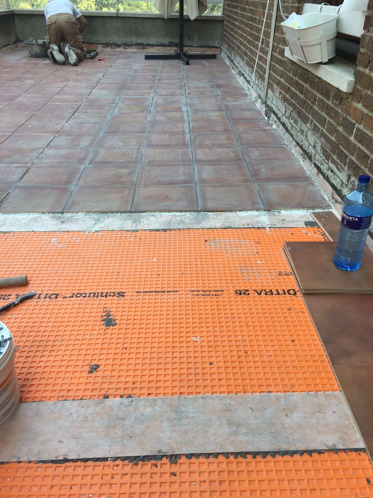 Impermeabilizaci n de terrazas con sch elter systems - Azotea transitable ...