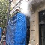 agua a presion fachada PB