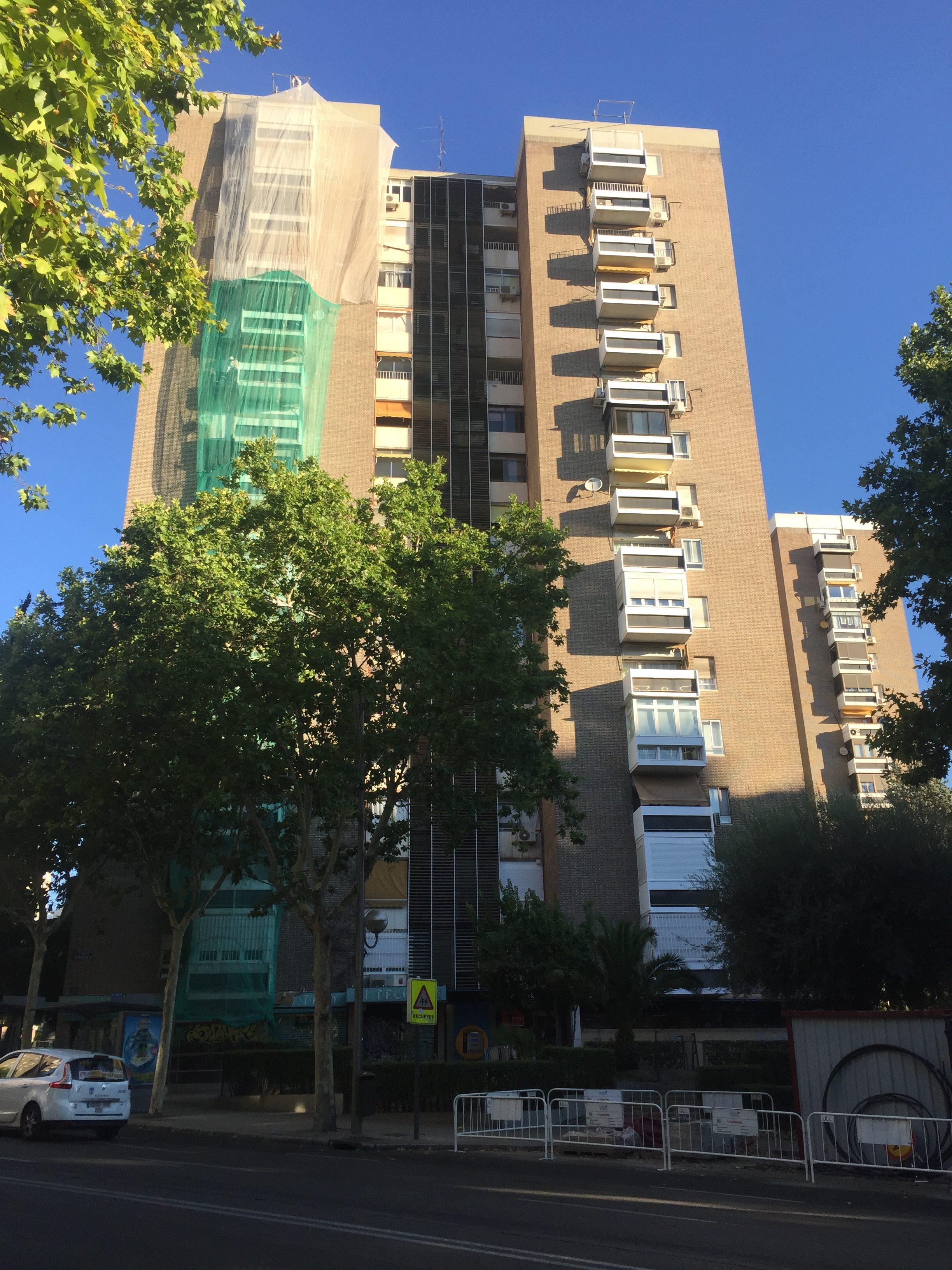 rehabilitacion edificio residencial madrid