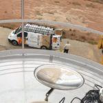 Limpieza de silos y depositos