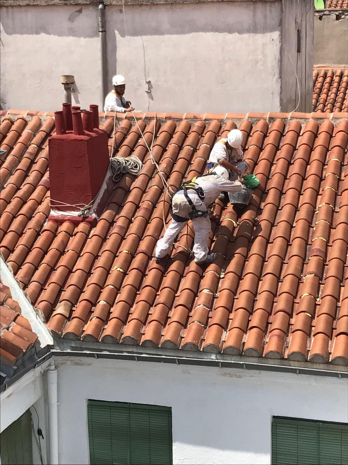 Rehabilitación de tejado y cubierta