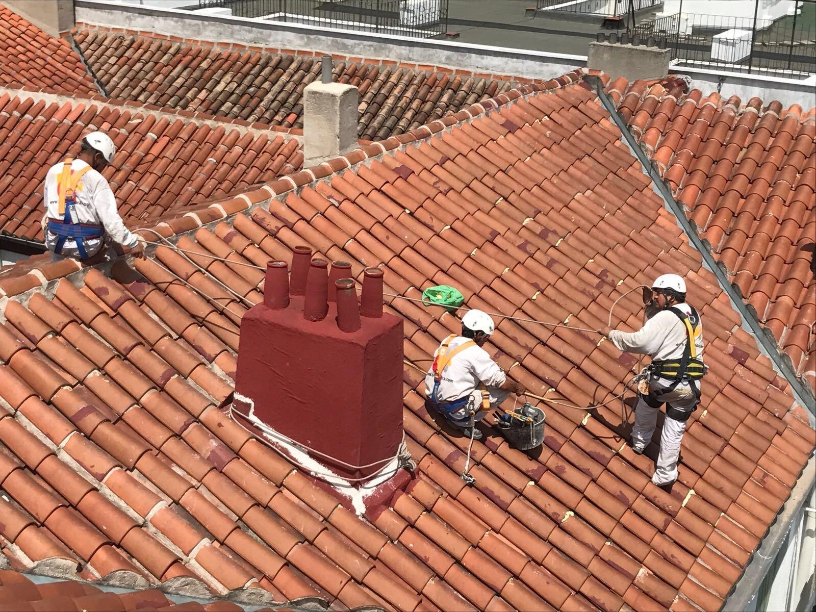 reparación de tejados madrid