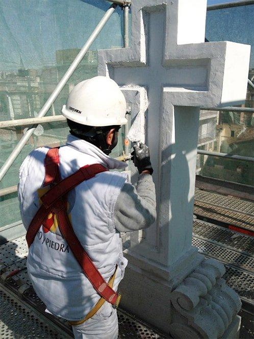 rehabilitacion monumento cruz