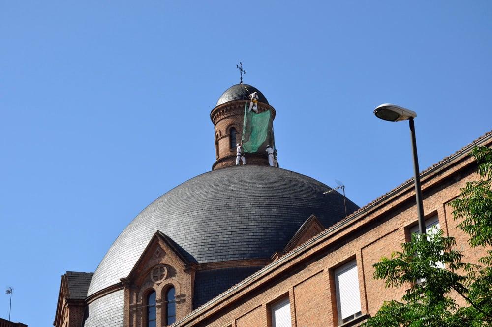 restauracion cupula edificio
