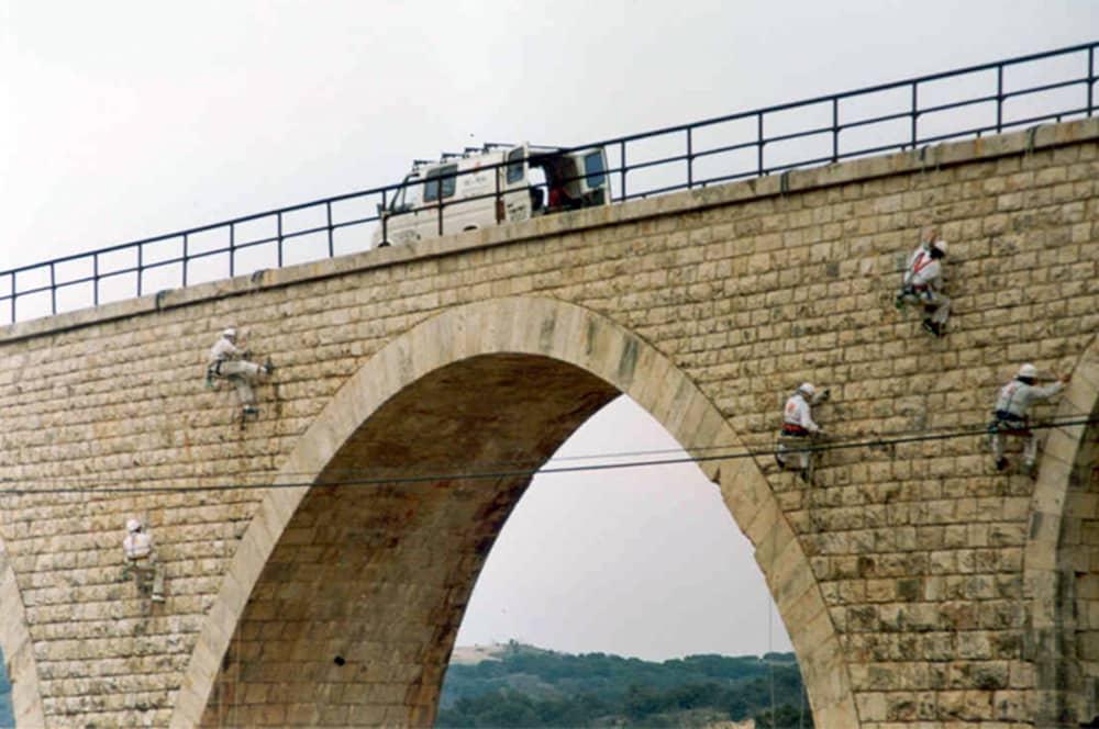 Rehabilitación puente histórico