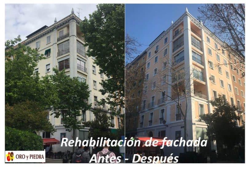 rehabilitacion integral fachada