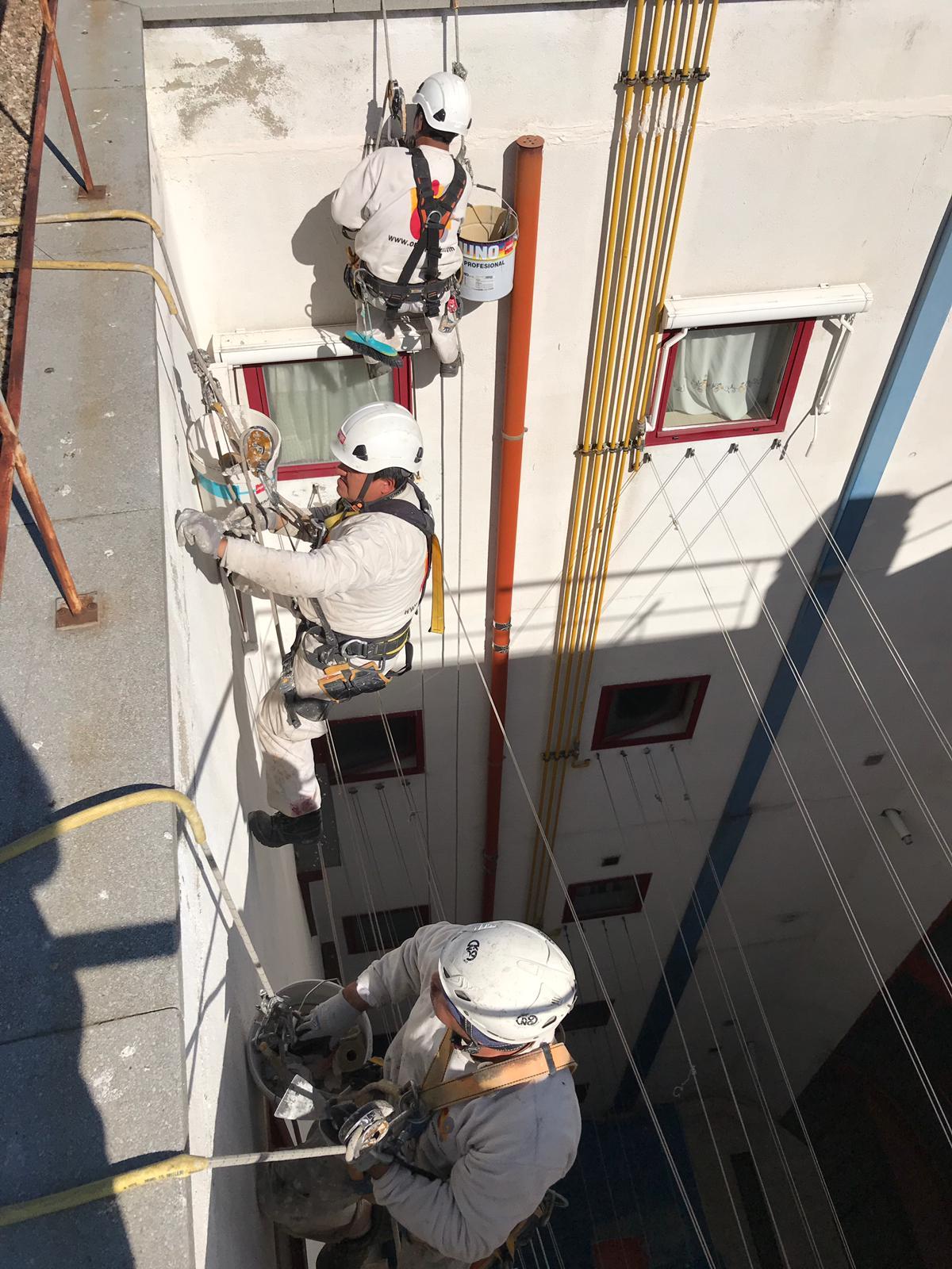 ventajas trabajos verticales