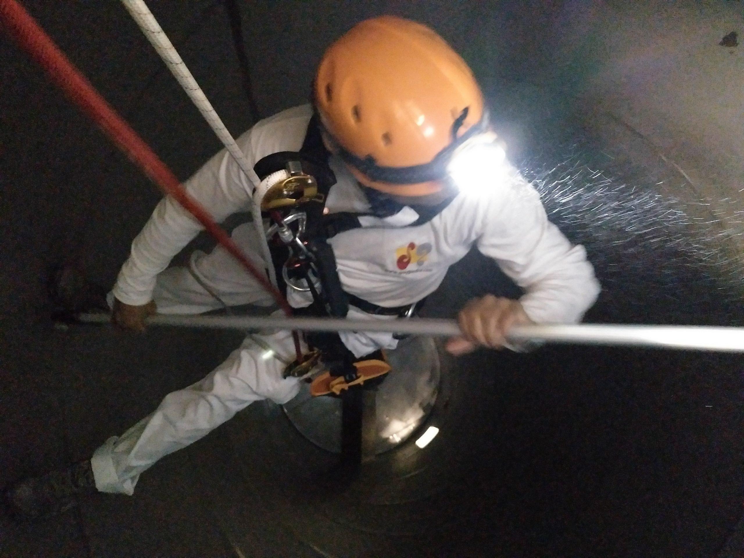 Limpieza de silos